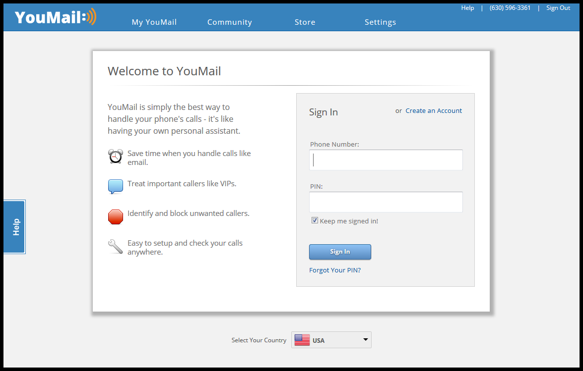 How to delete your messages on the youmail website help center log in to your youmail account here kristyandbryce Gallery